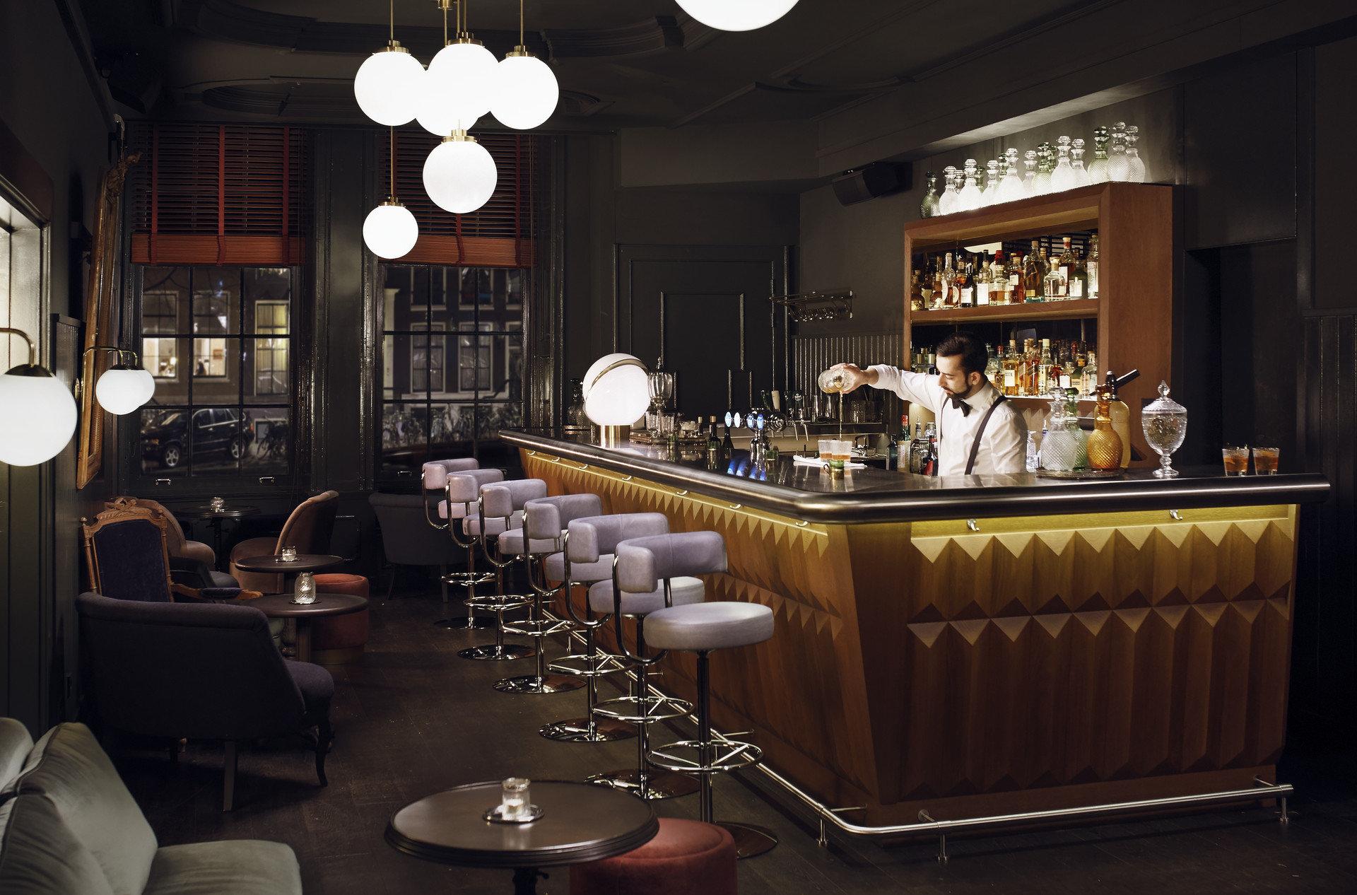 Hotels indoor ceiling room restaurant meal Bar interior design estate café furniture