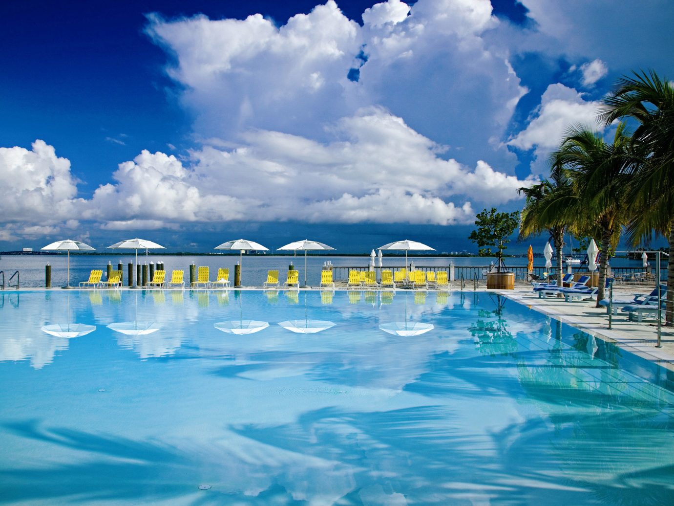 Trip Ideas sky outdoor swimming pool leisure Resort Pool Ocean vacation Sea Lagoon resort town blue estate reflection caribbean swimming day