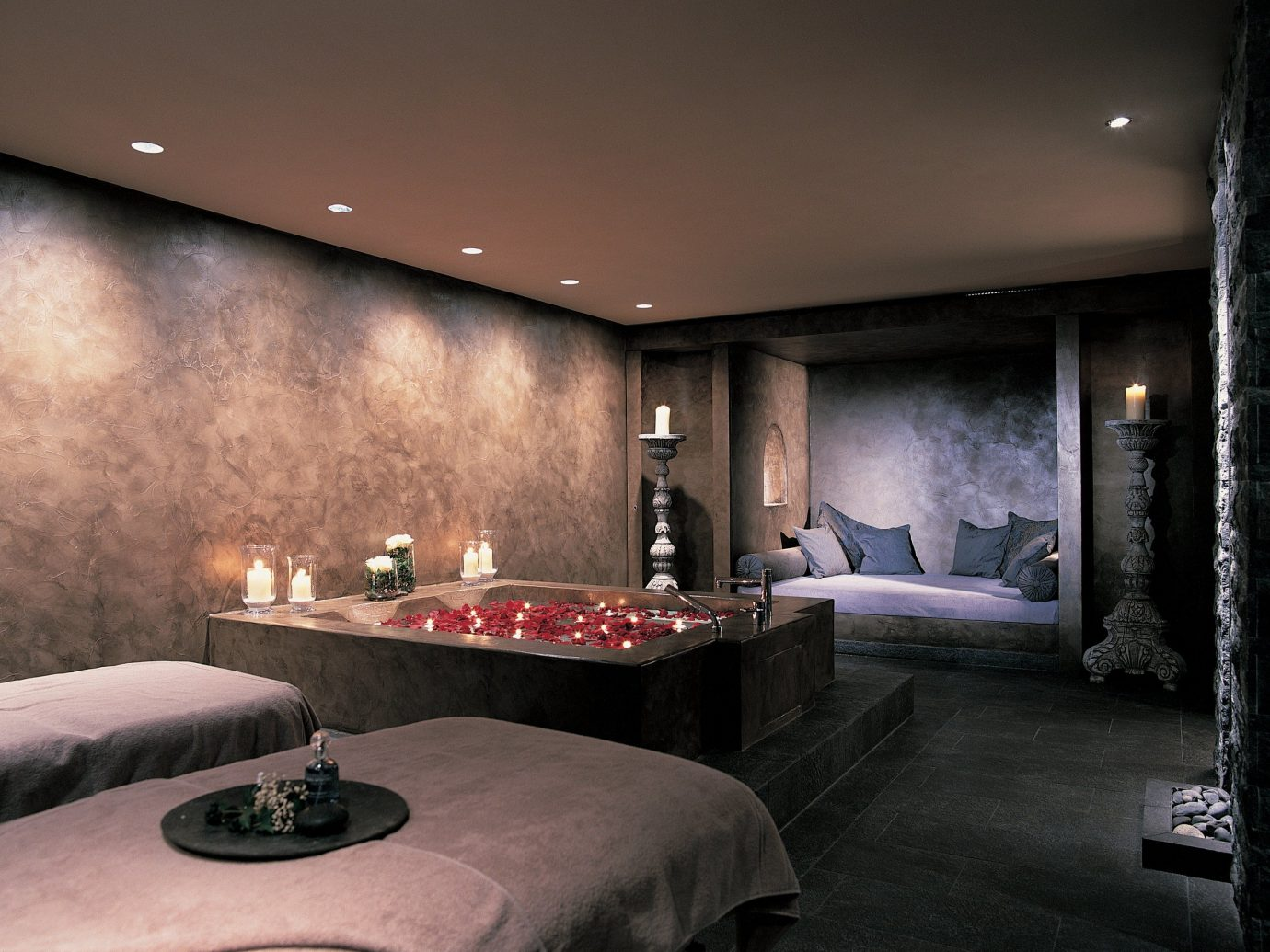 Health + Wellness Spa Retreats Trip Ideas Winter indoor ceiling bed room property living room interior design estate lighting Lobby home Design Suite Bedroom hotel