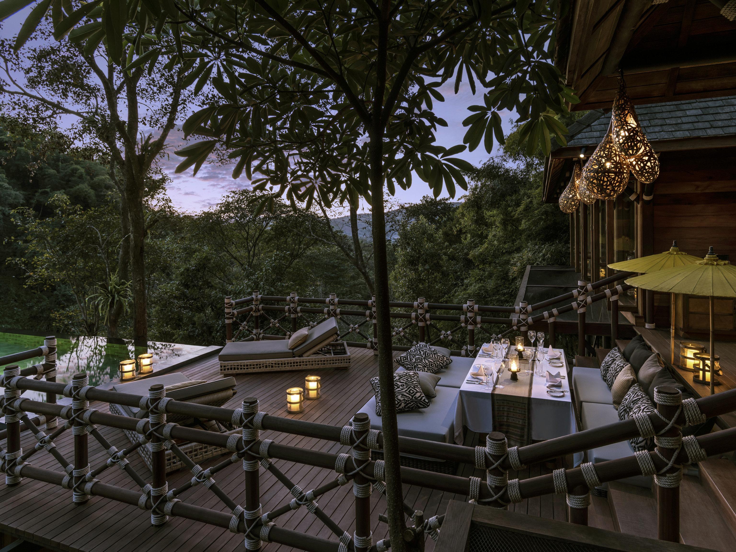 Hotels tree outdoor estate lighting
