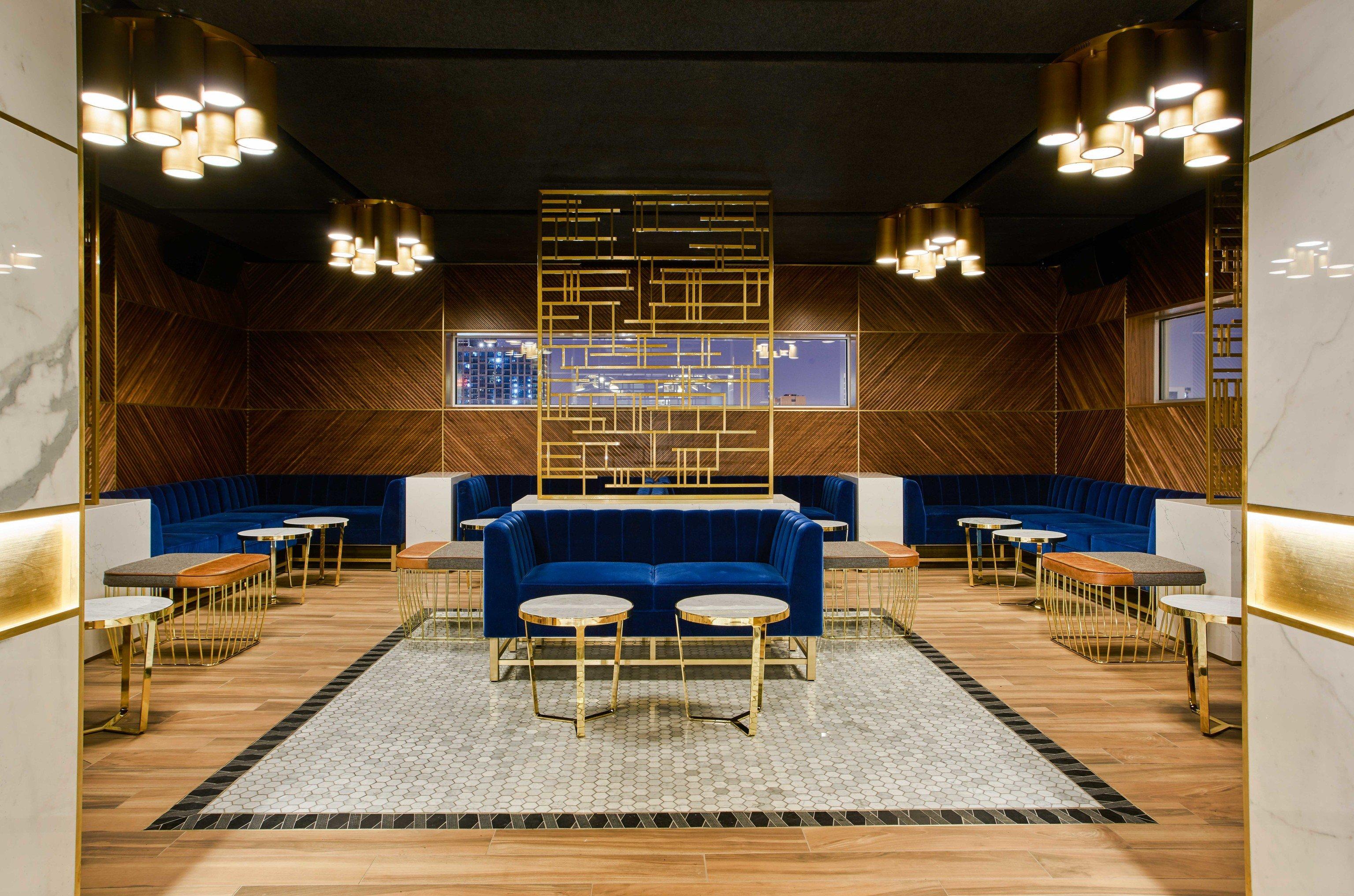 Arts + Culture Food + Drink Hotels Weekend Getaways indoor floor chair interior design room ceiling furniture Lobby restaurant table