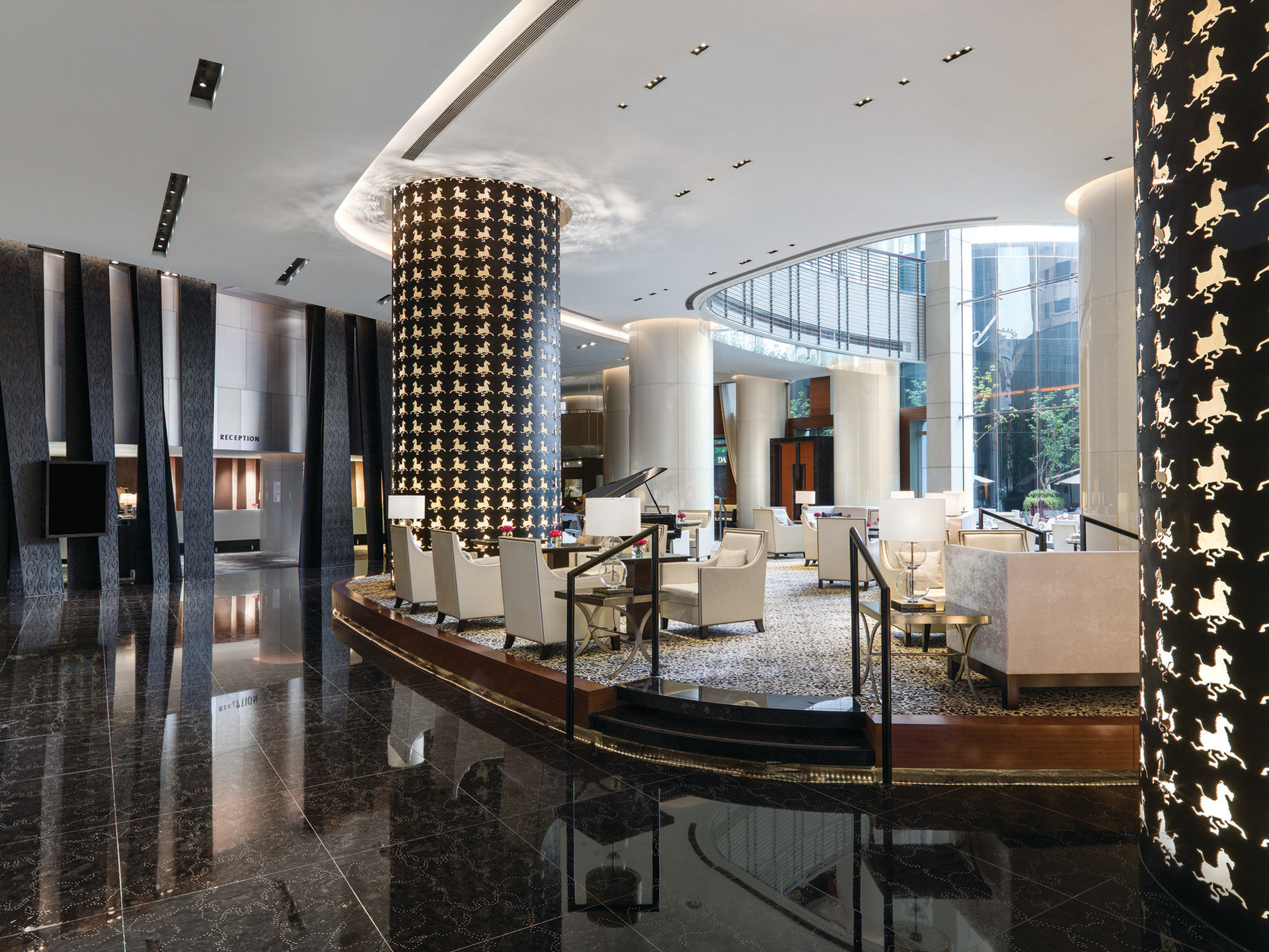 Boutique Hotels Luxury Travel Lobby Architecture interior design estate lighting condominium Design tourist attraction convention center
