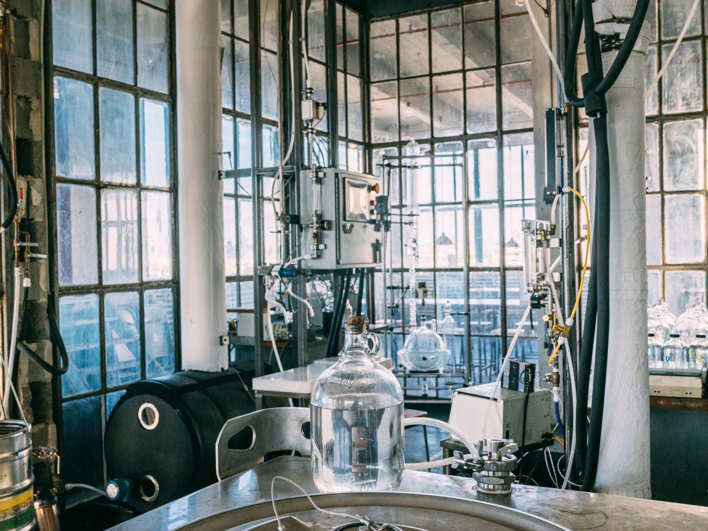 Brooklyn Food + Drink industry factory building window glass