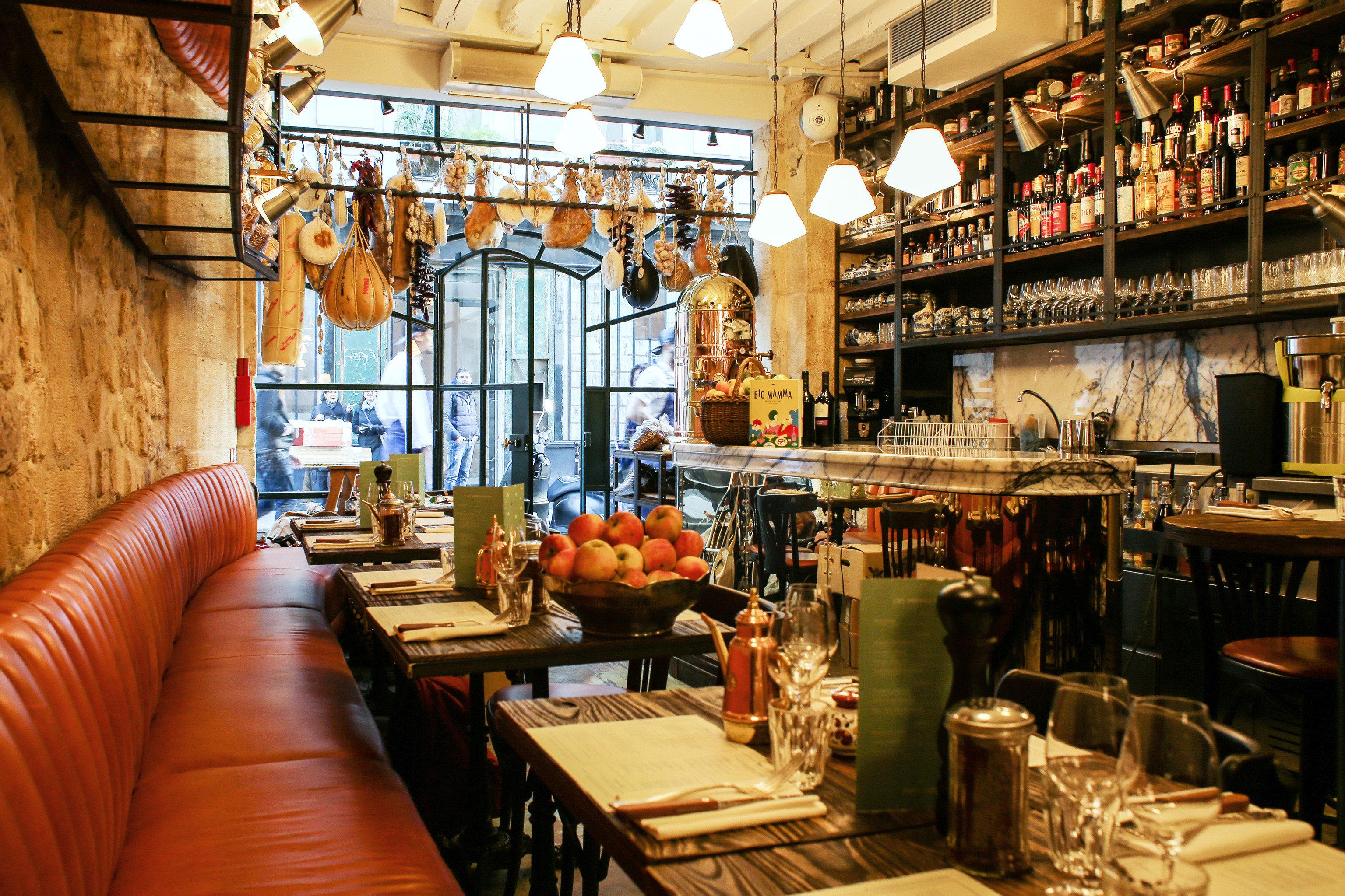 Food + Drink France Paris indoor room restaurant interior design Bar meal