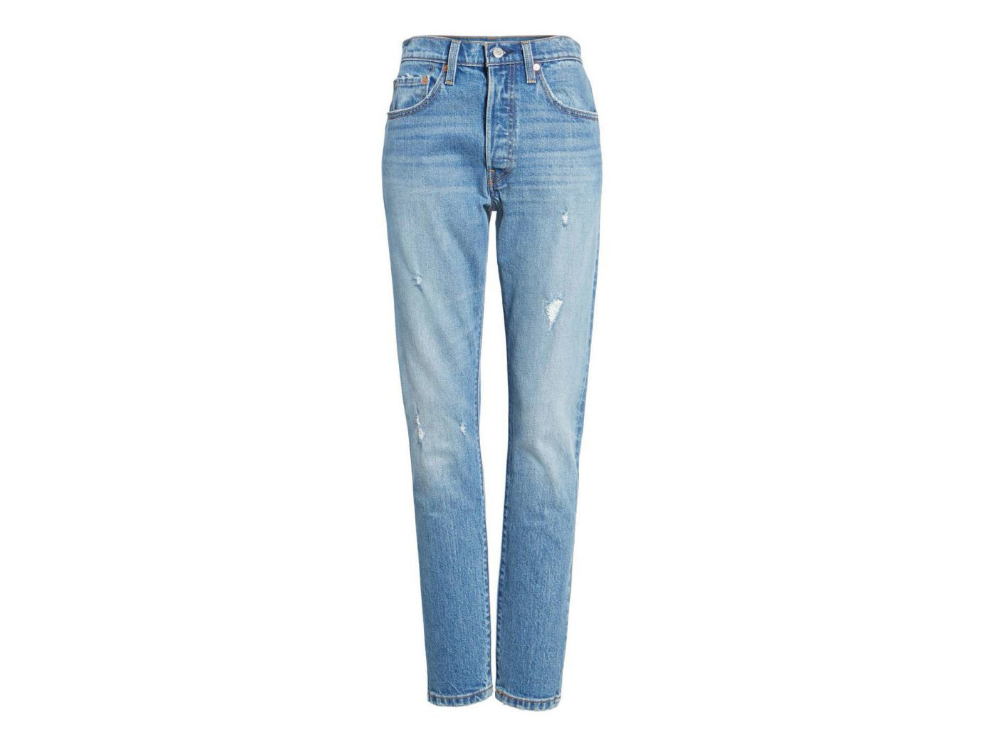 Celebs Style + Design Travel Shop clothing trouser jeans denim pocket trousers waist electric blue blue colored