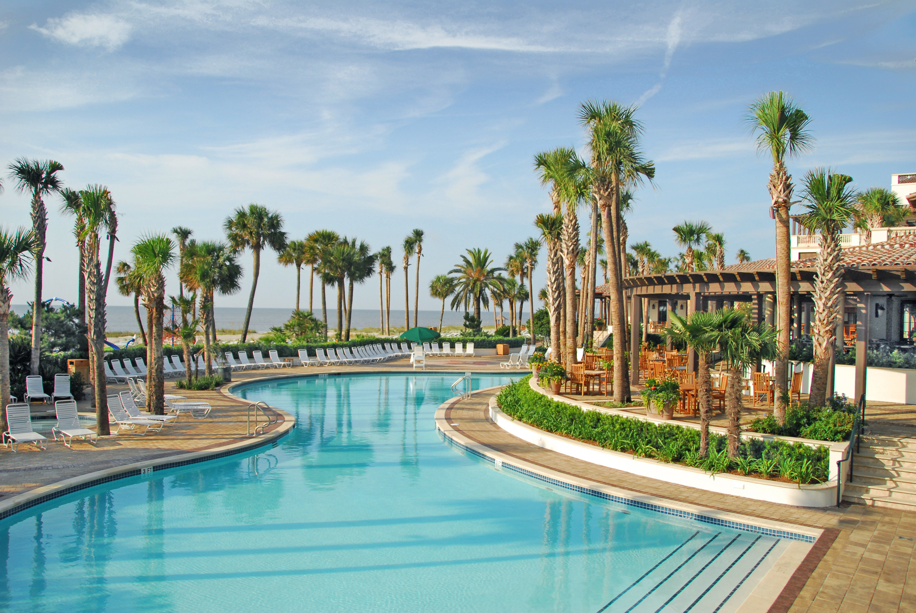Beach Hotels Islands Luxury Travel Romance Trip Ideas sky tree outdoor swimming pool leisure Resort property amusement park condominium estate vacation Water park resort town park palace colonnade