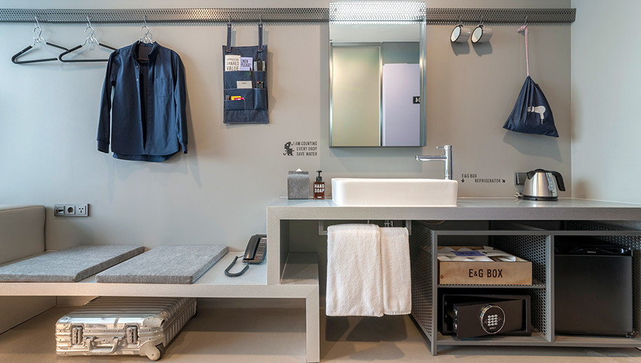 Hotels Luxury Travel wall indoor room countertop furniture interior design product design shelf cabinetry Kitchen angle product floor interior designer flooring