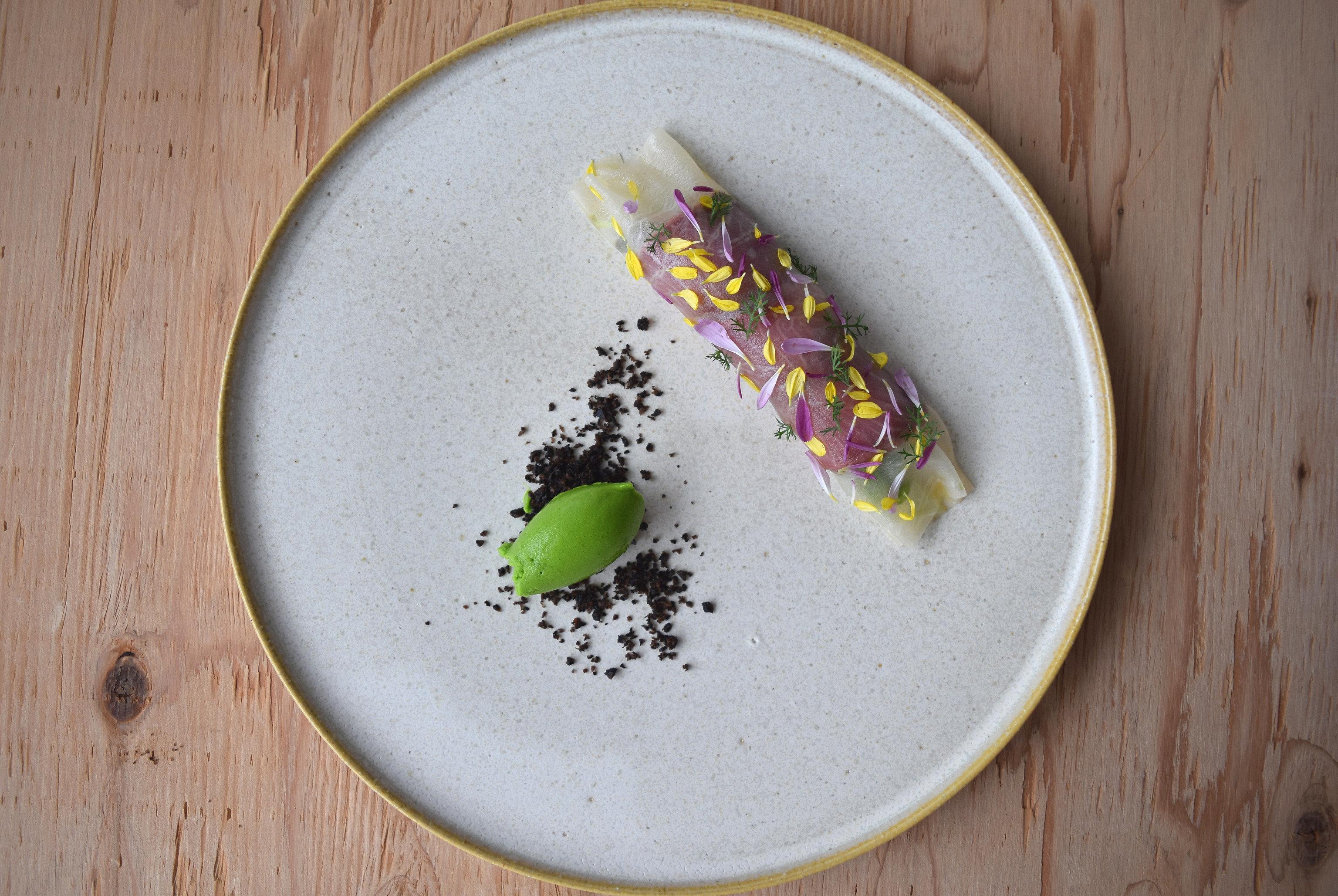 Hotels Japan Tokyo color plate green slice wooden leaf fruit food produce half plant Drink flower vegetable sliced fresh