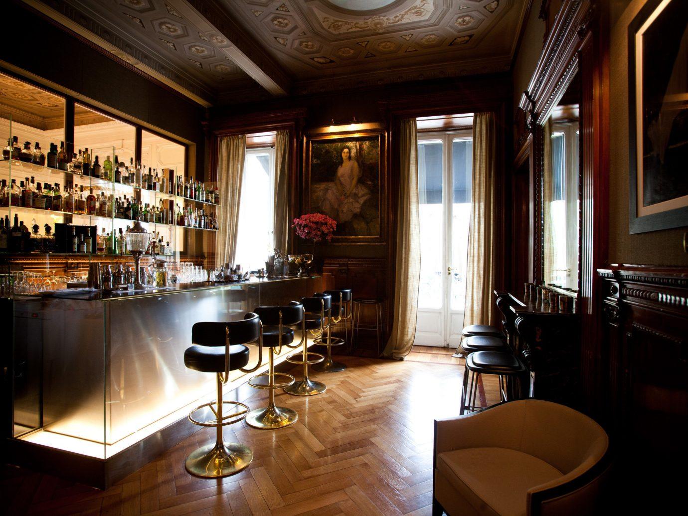 Boutique Hotels Italy Luxury Travel Romantic Hotels Rome indoor window floor room ceiling restaurant estate interior design Bar lighting home Design dining room furniture