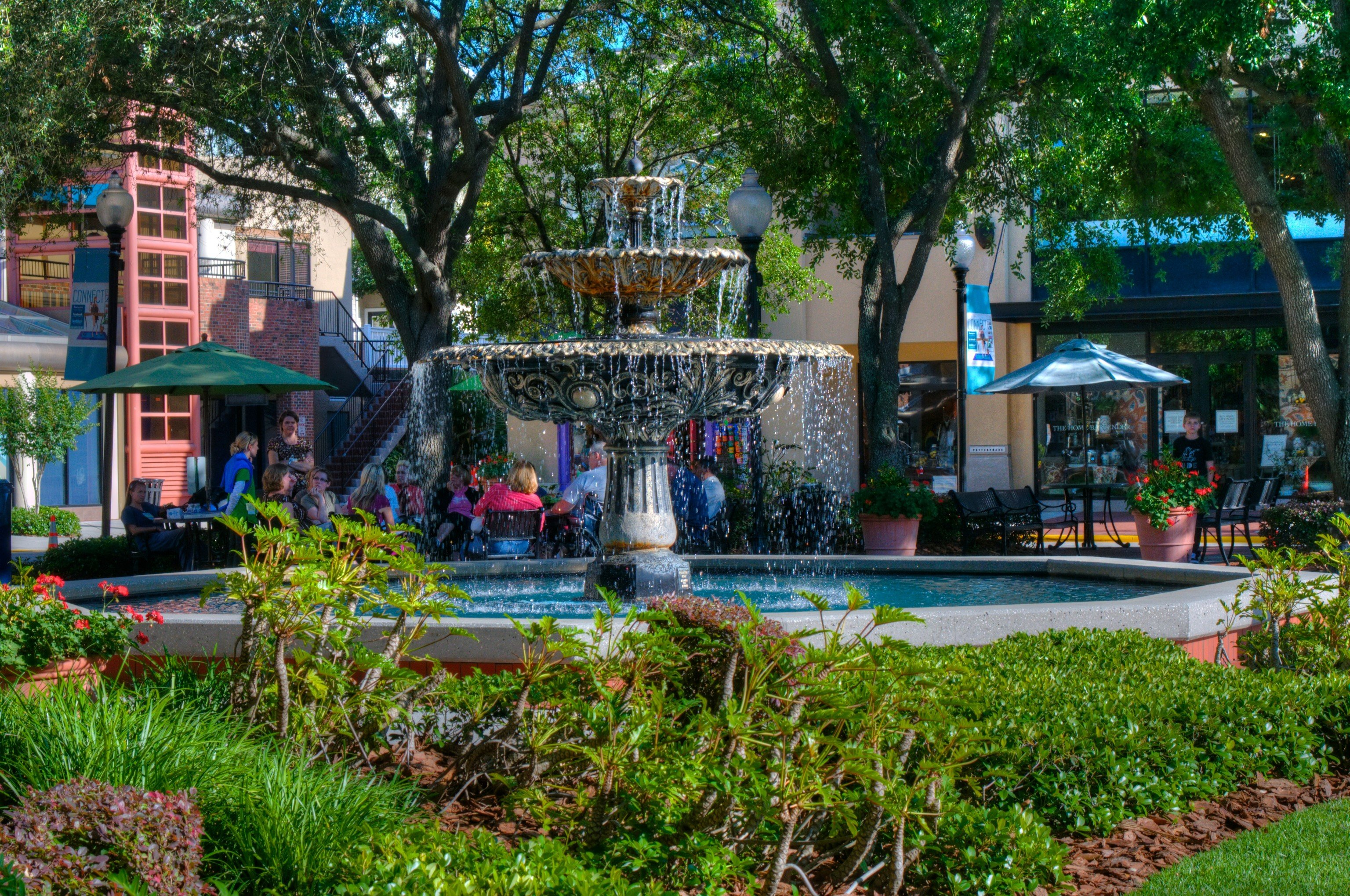 Trip Ideas outdoor tree grass City Resort plaza Garden park Playground flower yard water feature