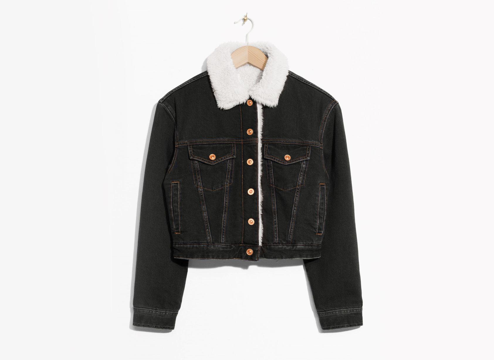 Style + Design Travel Shop clothing jacket suit wearing black leather jacket coat product denim leather sleeve fur dressed