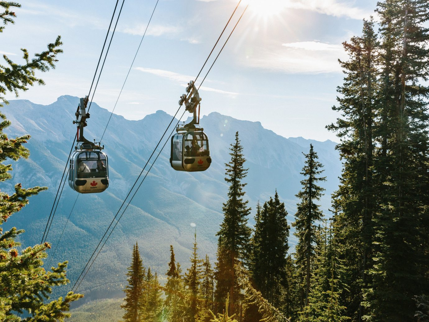 Canada Montreal Toronto tree Trip Ideas outdoor sky mountain cable car mountain range Adventure Forest vehicle wooded
