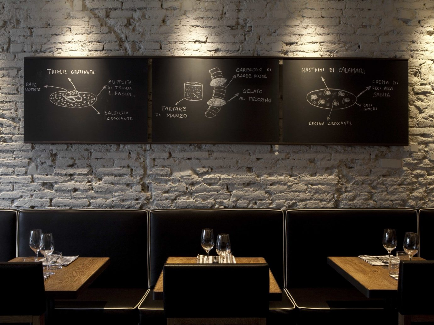 Food + Drink indoor wall Design interior design brand