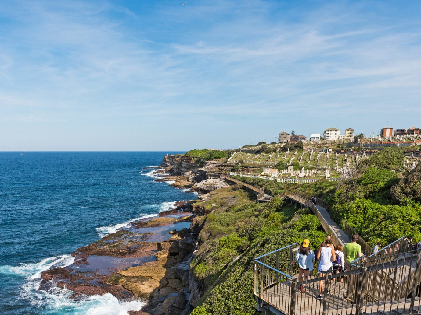 Outdoors + Adventure Sydney sky outdoor water Coast Sea promontory headland coastal and oceanic landforms Nature cape shore Ocean terrain bay tourism tree cliff City horizon cove traveling
