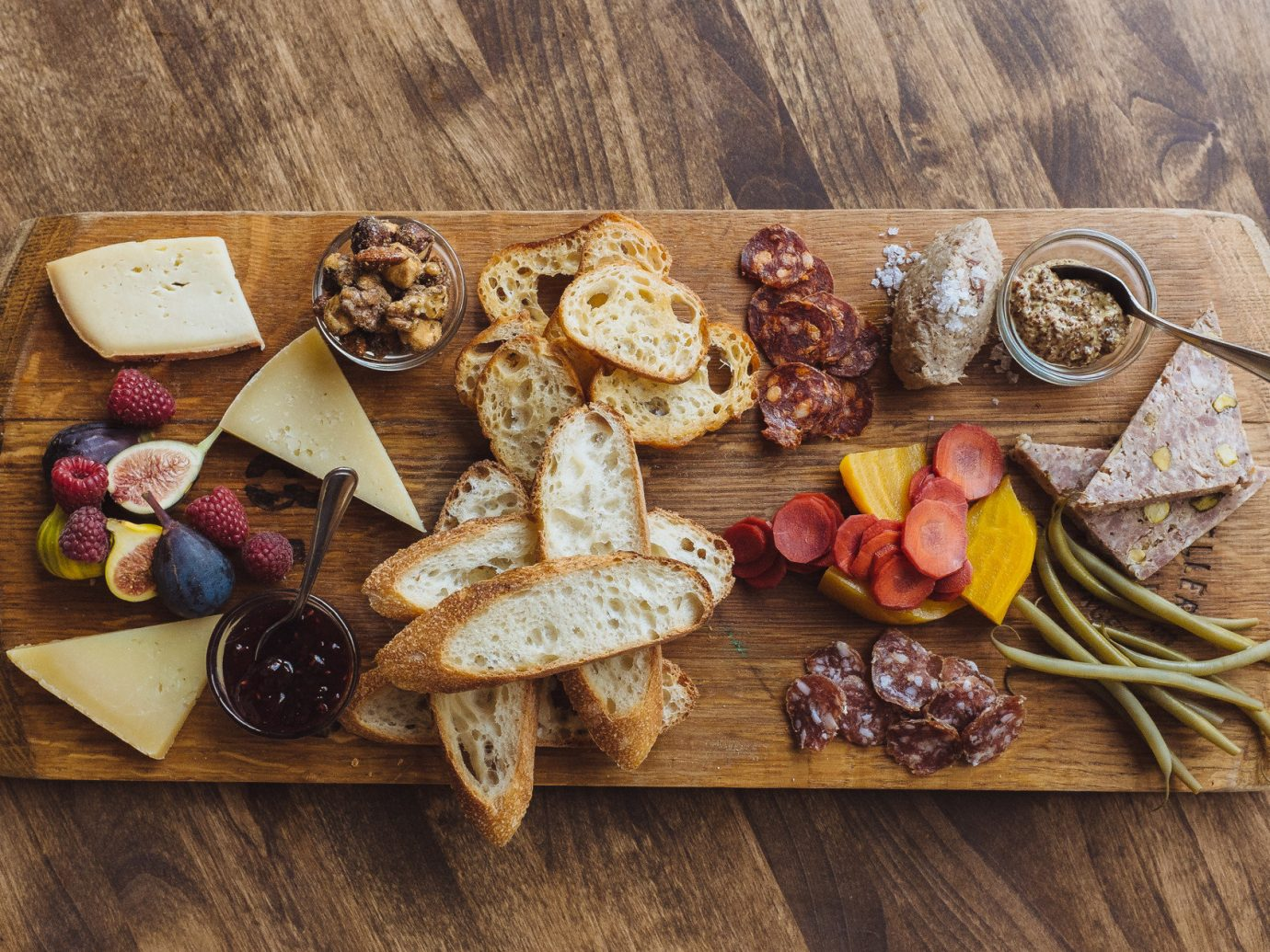 appetizer charcuterie Dining Eat food Food + Drink gourmet Health + Wellness Travel Tips floor meal wooden produce breakfast baking flavor wood sliced