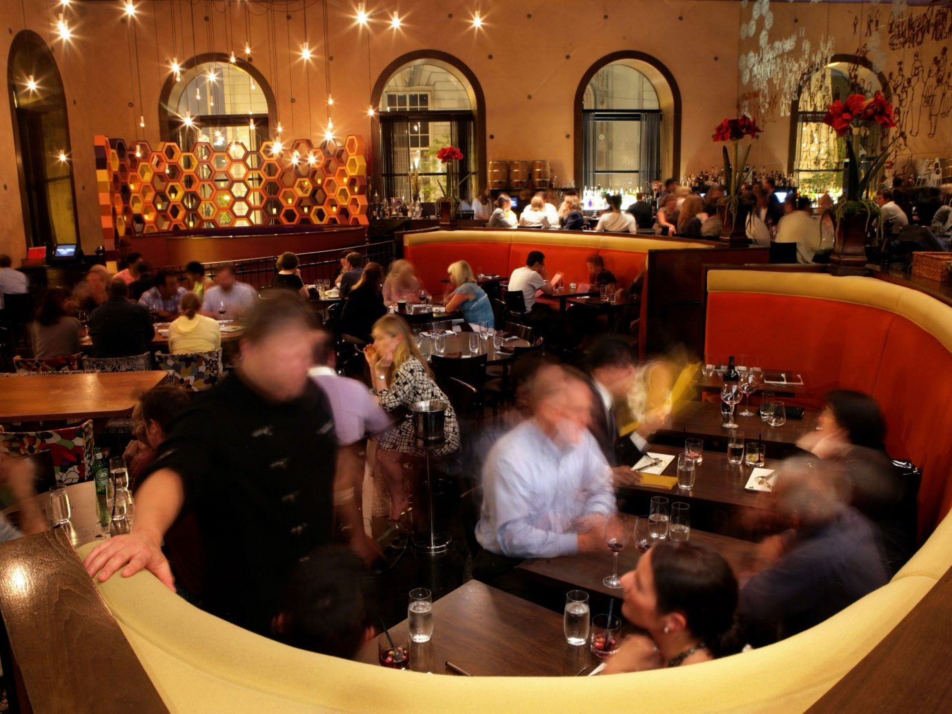 Food + Drink indoor person Bar restaurant meal dinner
