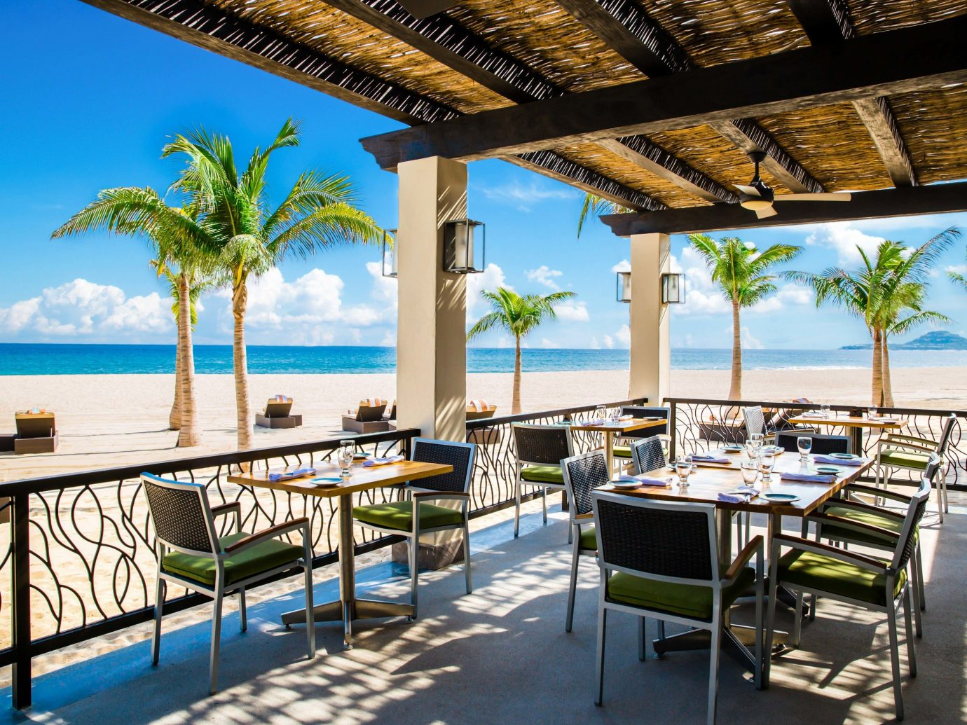 Outdoor dining at Hyatt Ziva Los Cabos