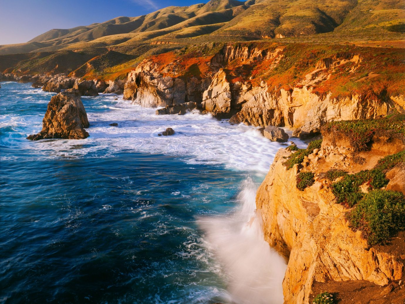 Coastline of Big Sur, California