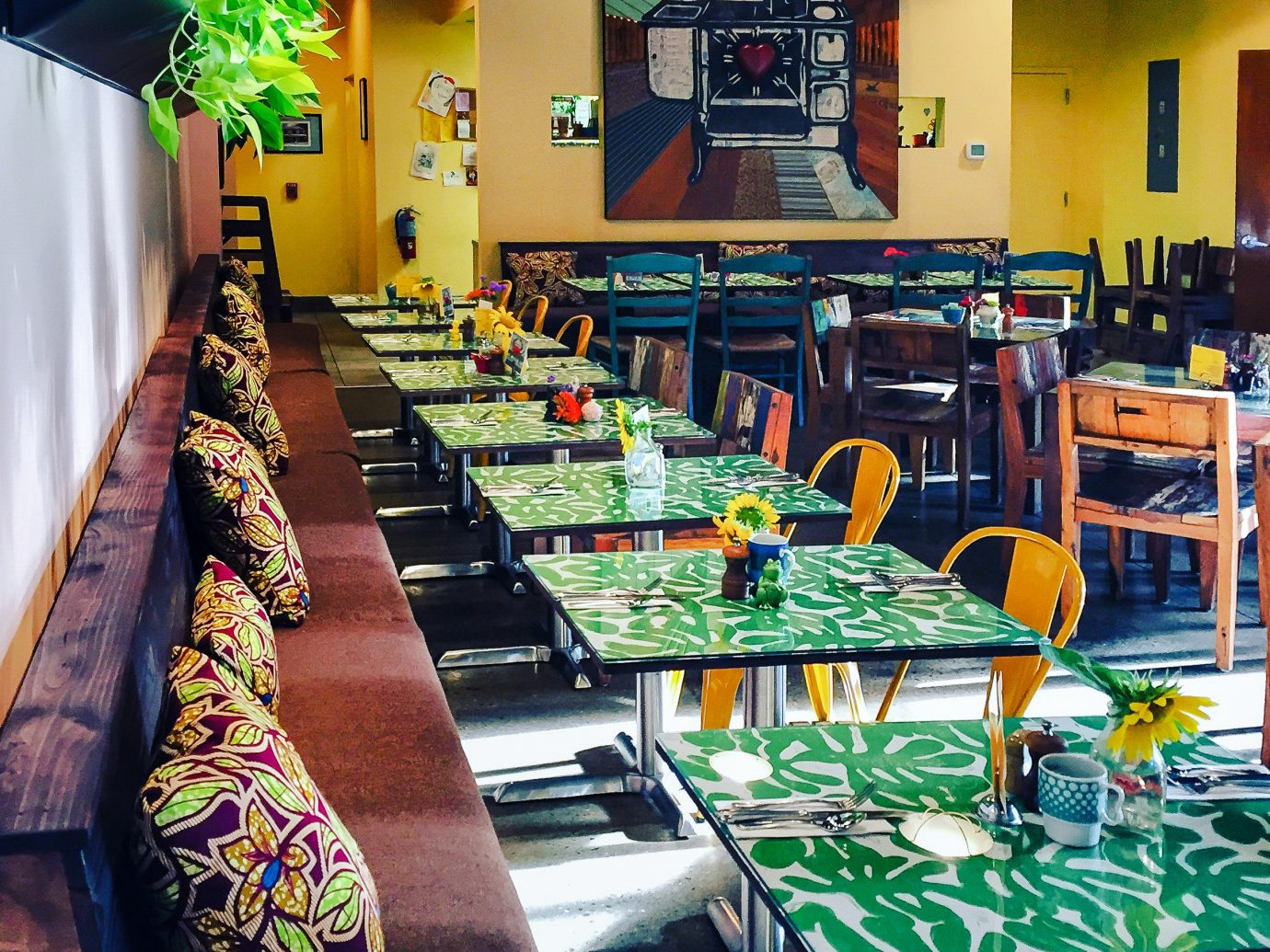 Trip Ideas indoor restaurant meal colorful interior design Bar colored