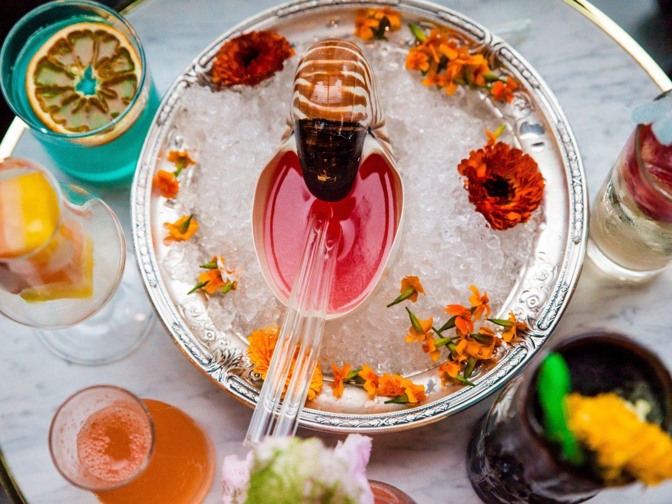 Arts + Culture Food + Drink Hotels Weekend Getaways food plate table dish meal brunch dessert cuisine breakfast several