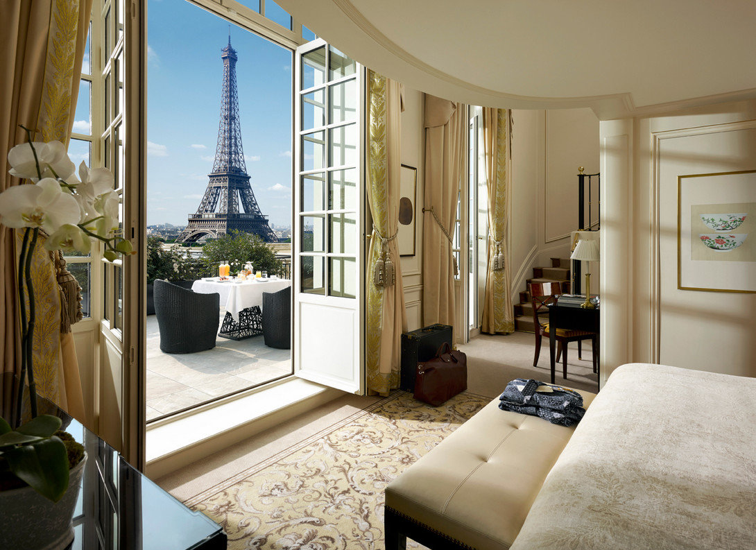France Hotels Luxury Travel Paris Romance indoor wall room Living property Bedroom home living room estate ceiling interior design furniture cottage real estate Design condominium Suite window apartment