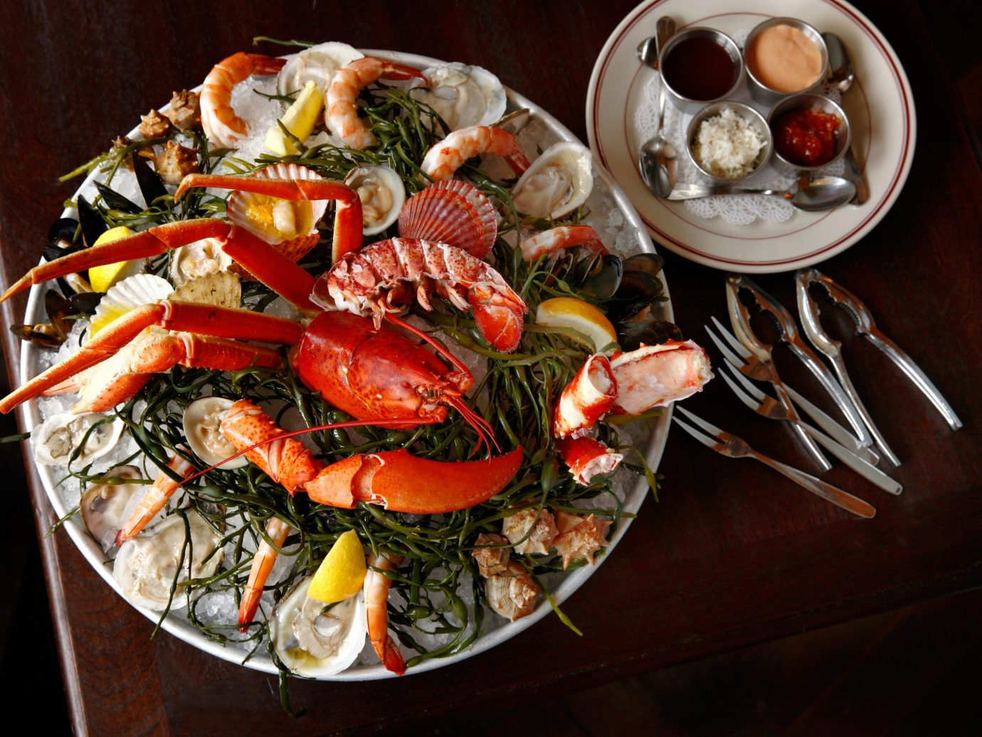 Food + Drink food dish Seafood meal cuisine invertebrate fish mussel animal source foods seafood boil