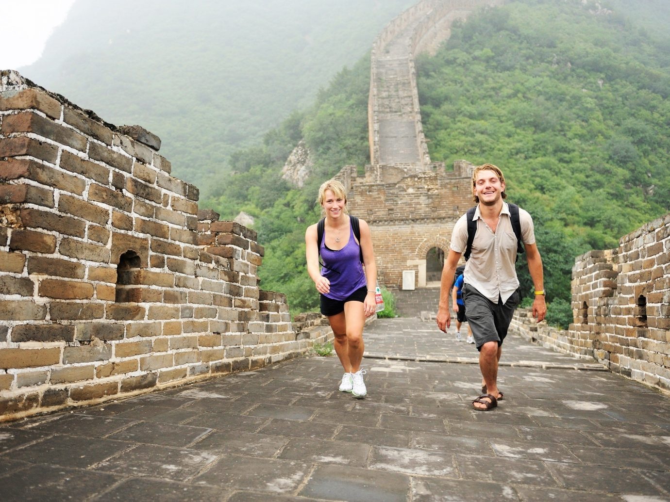 Offbeat mountain outdoor ground archaeological site stone tourism vacation tours temple walking brick