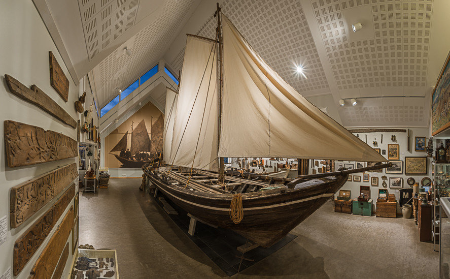 Iceland Outdoors + Adventure Road Trips maritime museum tourist attraction wood museum watercraft galiot longship