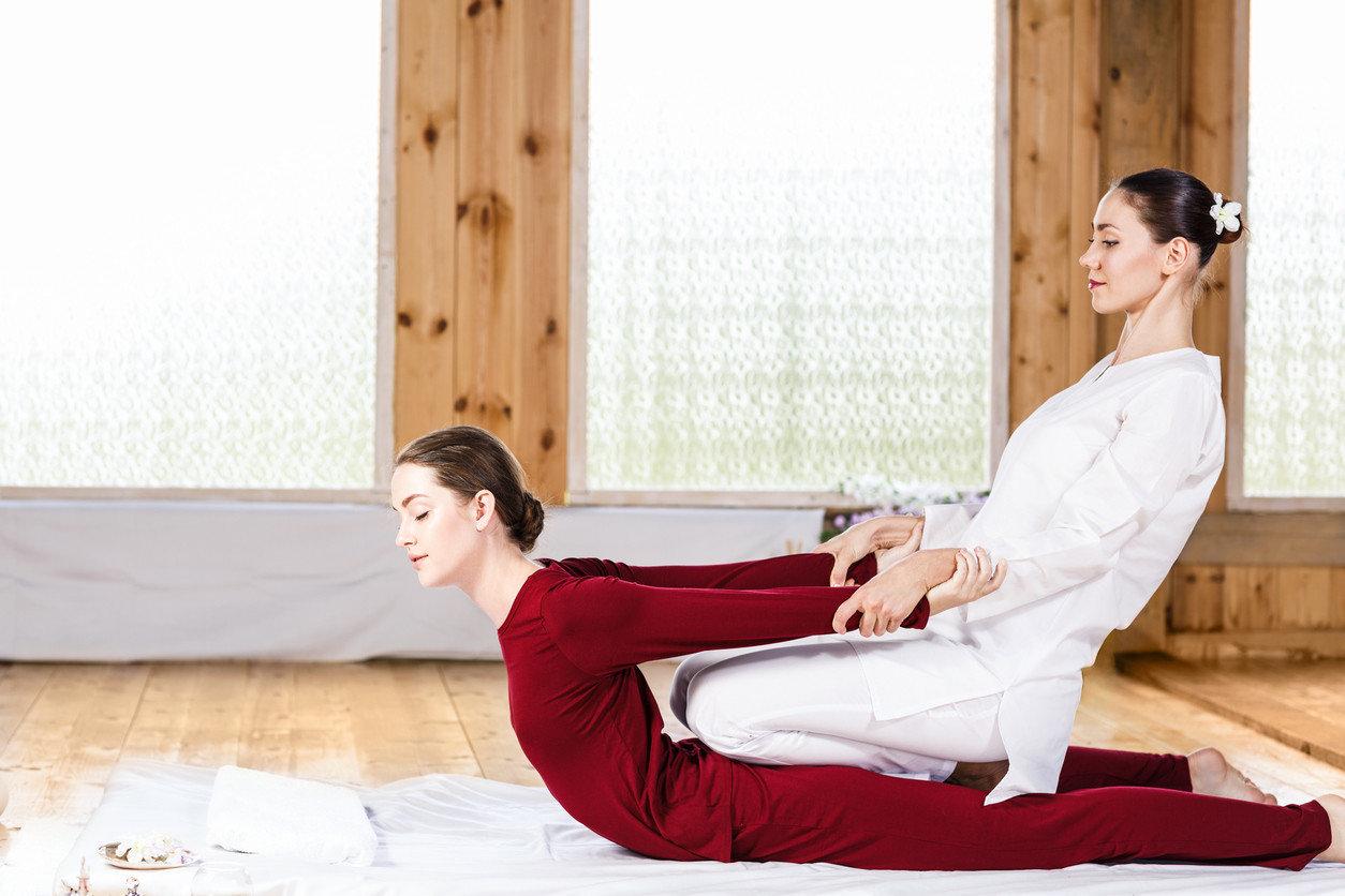 Health + Wellness Spa Retreats Travel Tips person human positions sitting leg photo shoot physical fitness