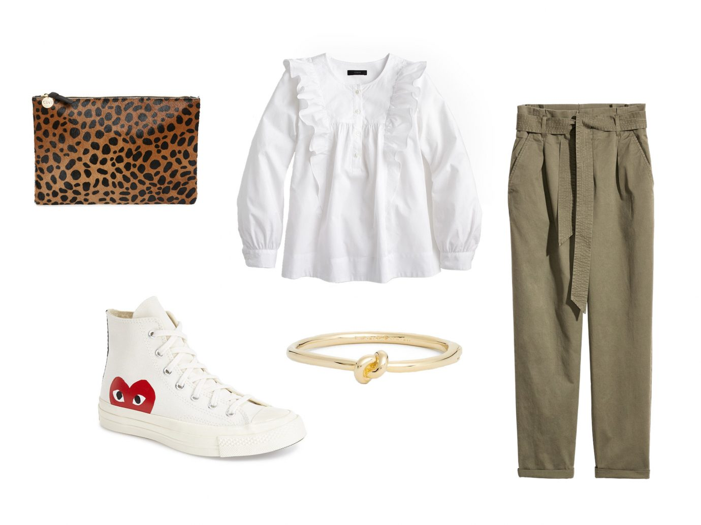 Style + Design white clothing fashion product shoe beige product design shorts trouser clothes colored tan