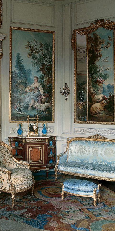 Interior view of Musée Nissim de Camondo