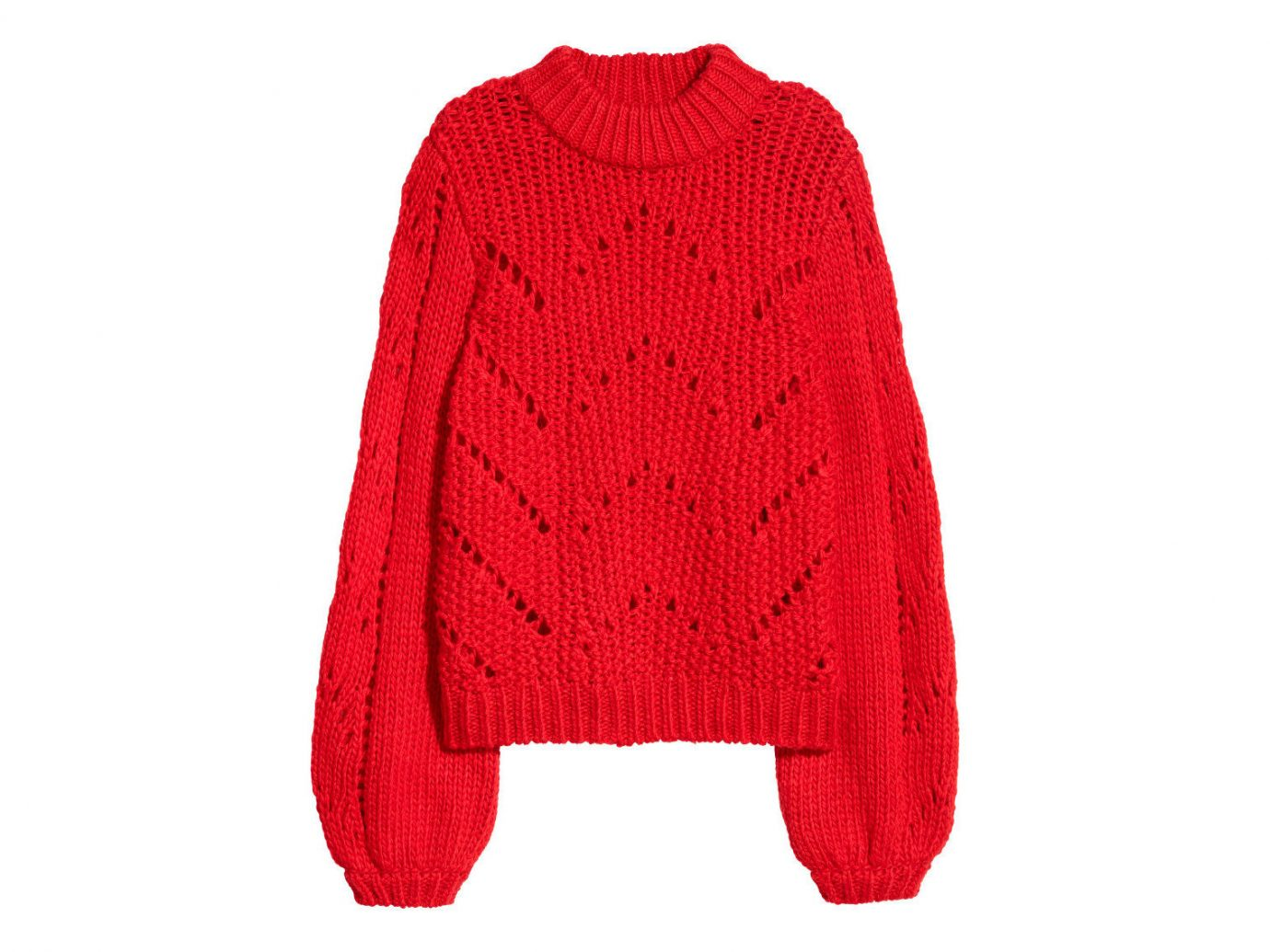 Style + Design Travel Shop clothing woolen sweater red sleeve wool neck poncho