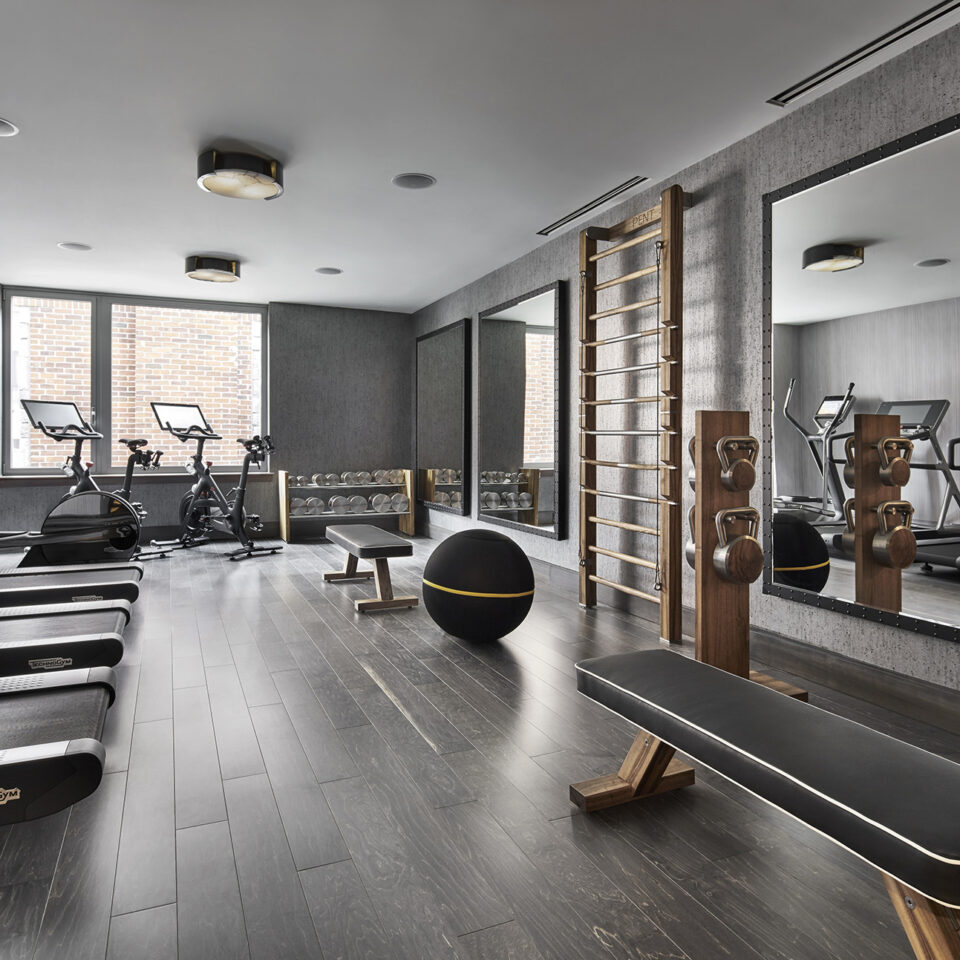 Gym at The Ritz-Carlton Georgetown, Washington, D.C.