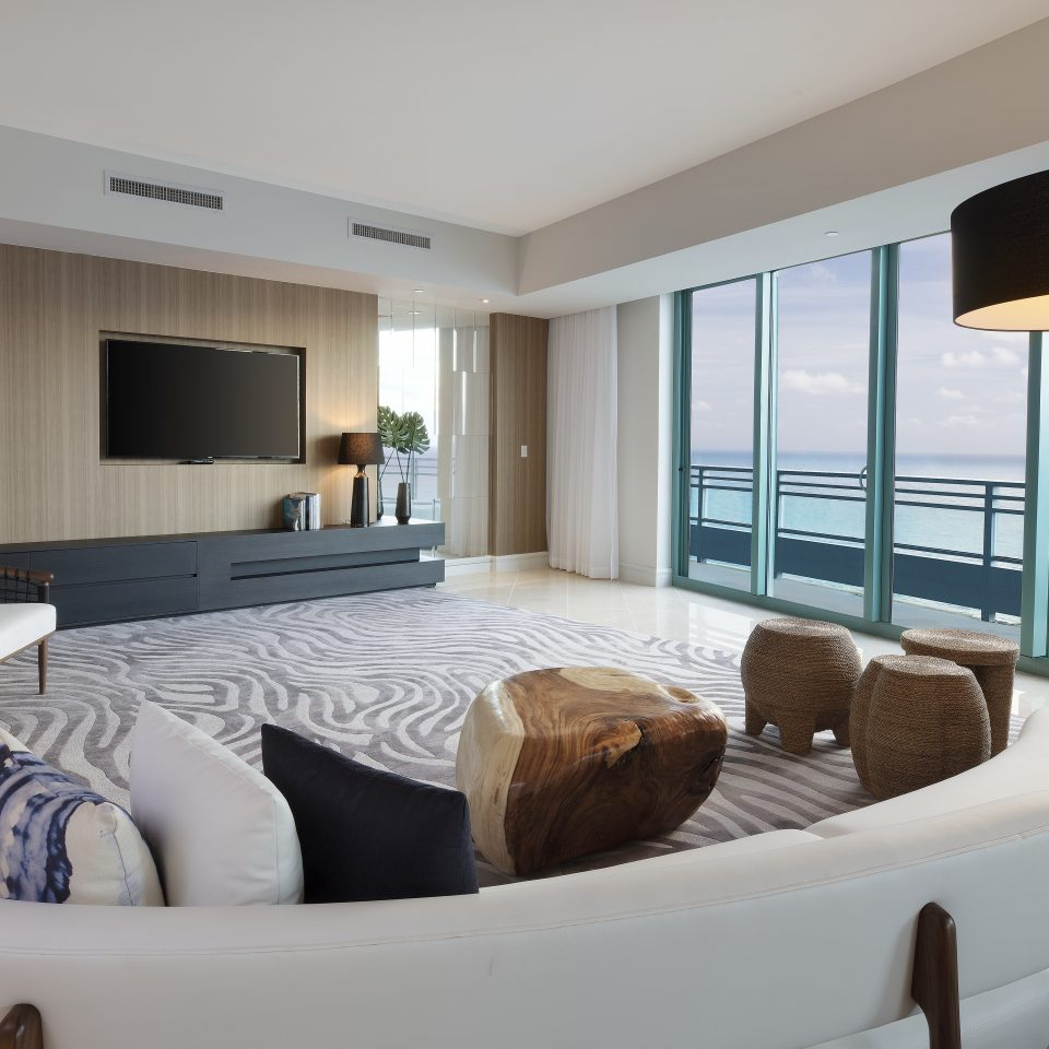 Presidential suite at Diplomat Beach Resort