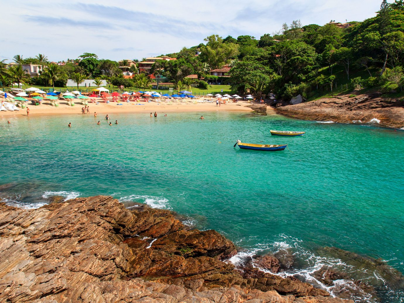 Beaches Brazil Trip Ideas water outdoor sky Nature Sea Beach coastal and oceanic landforms body of water Coast rock shore Ocean bay tourism tropics inlet vacation cove tree cape Lagoon wave sand promontory Island Boat landscape leisure caribbean reef lined swimming line day sandy