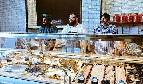 Summer Series indoor person bakery food meal sense butcher
