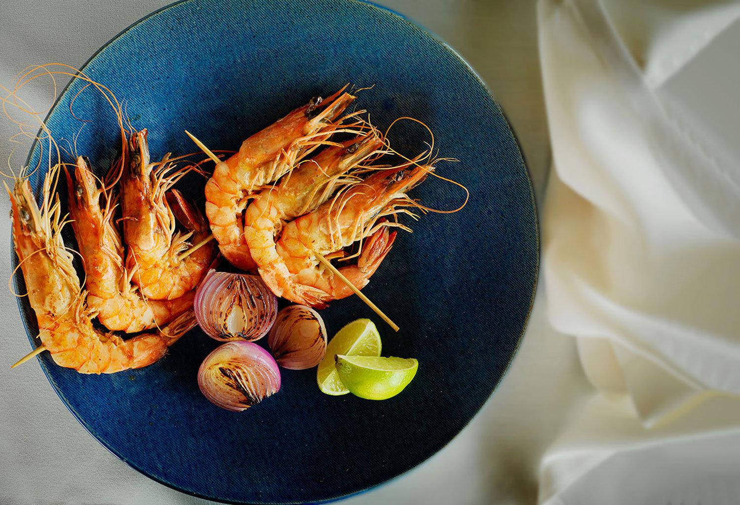 Hotels food arthropod produce blue Seafood vegetable