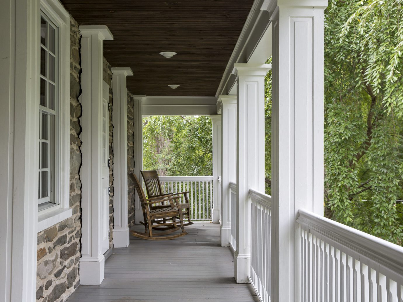 Food + Drink Romantic Getaways Weekend Getaways building porch property house home room estate siding cottage white interior design window wood outdoor structure farmhouse mansion real estate furniture