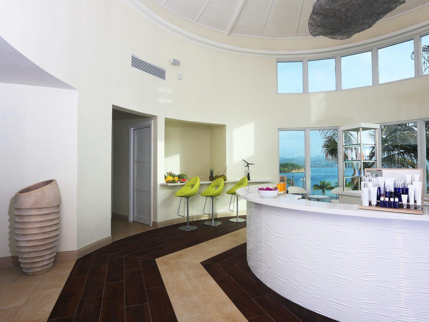 Beachfront Boutique Hotels Island Lobby Tropical indoor floor wall property room ceiling interior design estate real estate condominium home Design apartment furniture