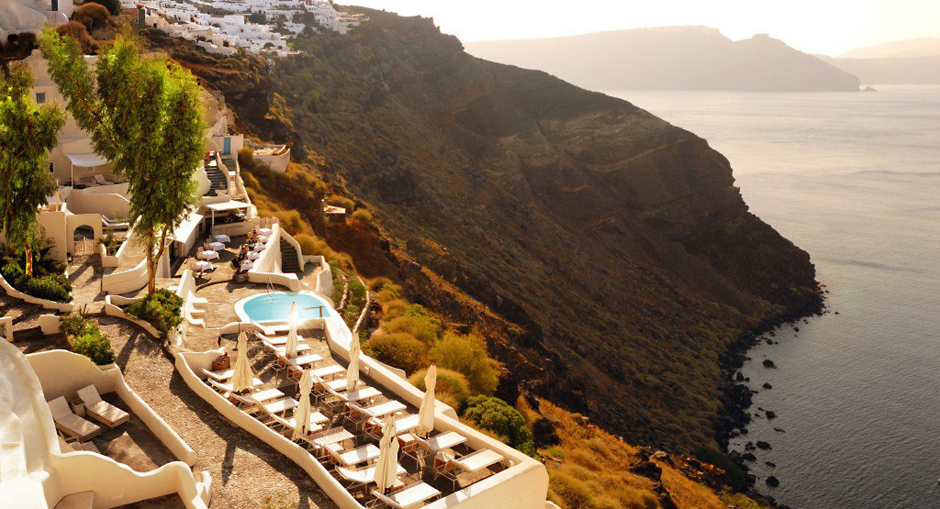 Hotels Luxury Travel outdoor mountain Nature Coast vacation tourism Sea terrain surrounded