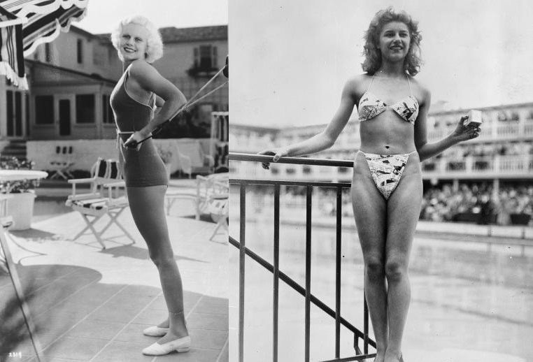 The shocking history of the bikini