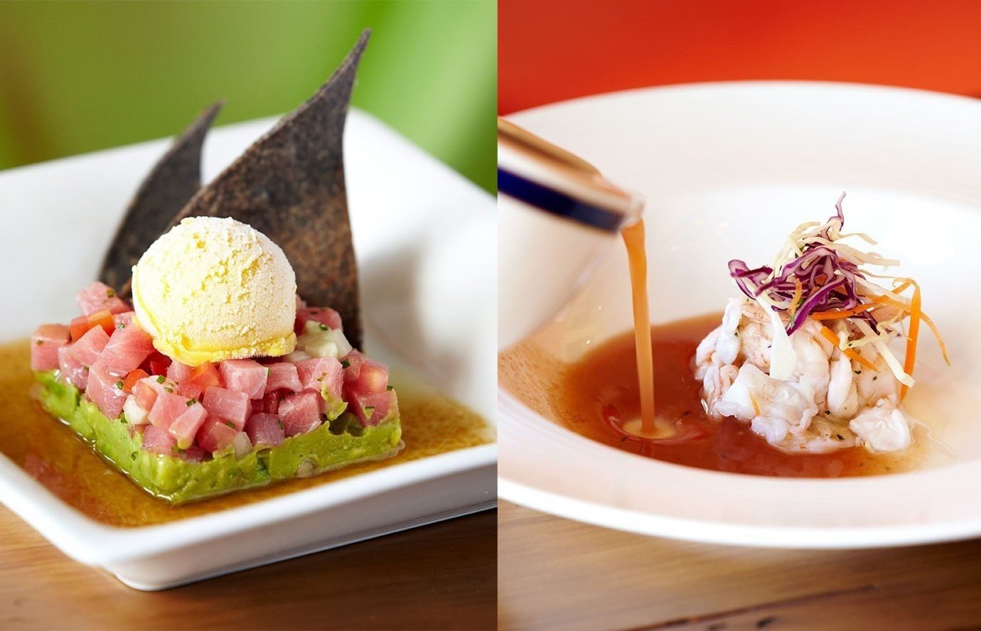 Food + Drink food plate dish cuisine meal produce asian food piece de resistance