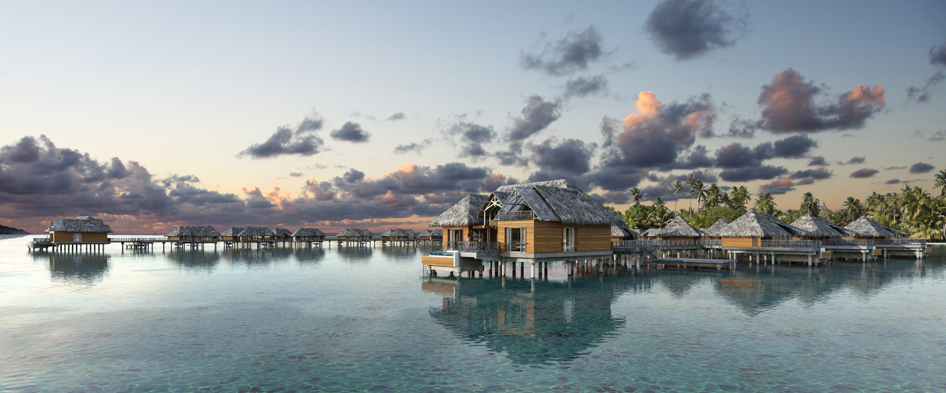 Hotels outdoor sky water reflection waterway scene cloud tree morning house evening Lake tourist attraction River Sea calm Sunset landscape dawn bayou plant dusk bank dock traveling tourism sunrise day