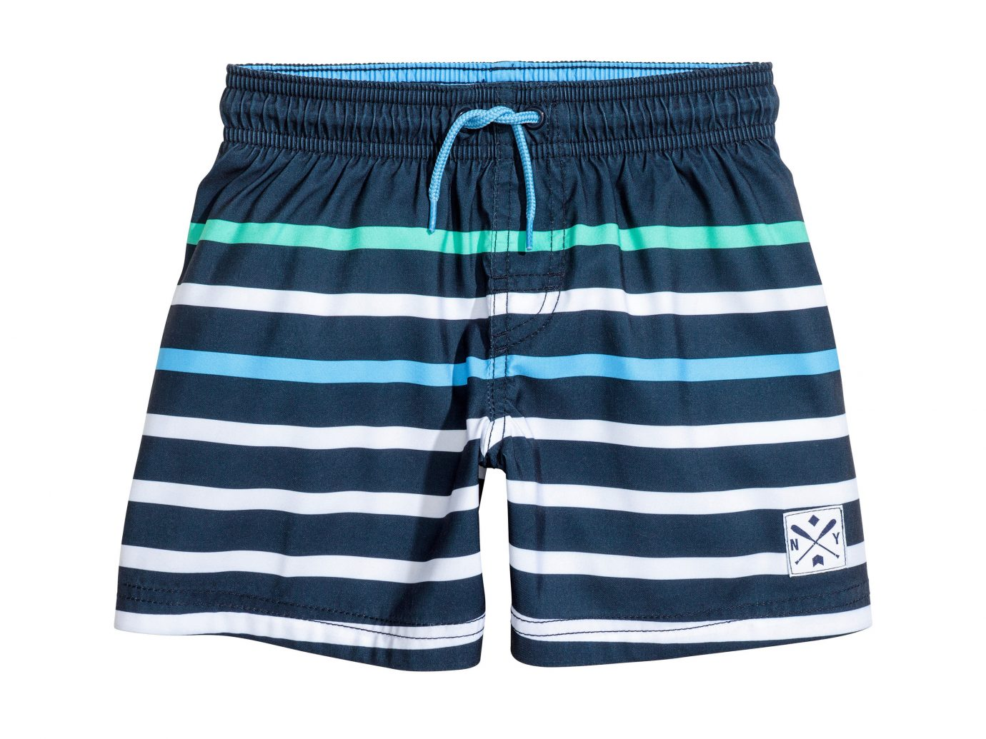 Style + Design clothing active shorts striped shorts trunks product electric blue bermuda shorts trouser underpants