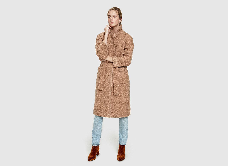 Style + Design Travel Shop coat outerwear robe trench coat beige overcoat