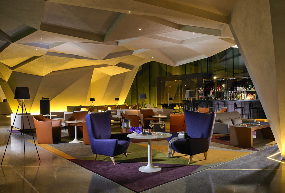 Dublin Hotels Ireland indoor ceiling restaurant meal interior design function hall Design convention center Lobby Bar area furniture