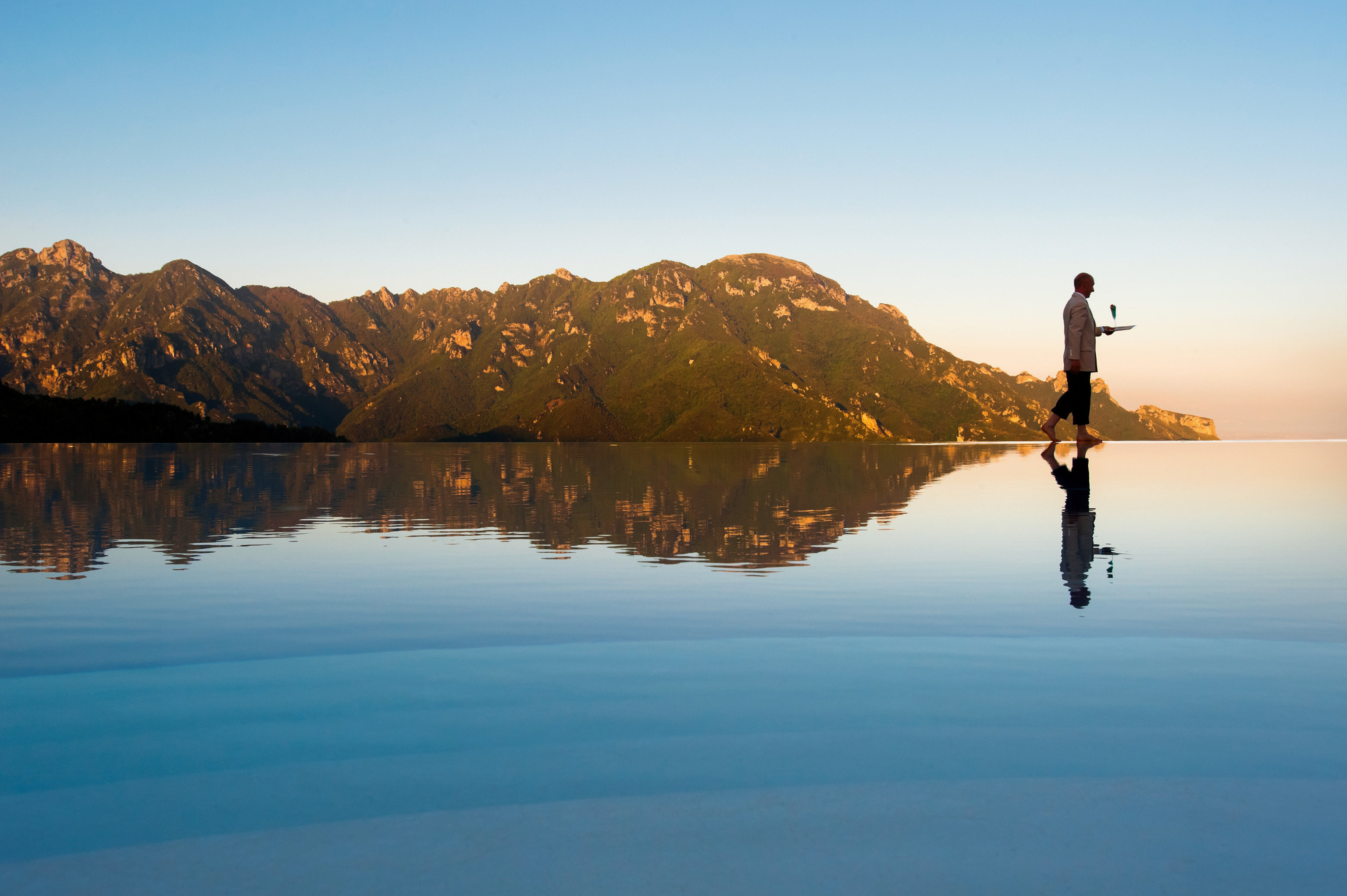Hotels Romance sky outdoor water mountain reflection Nature Lake calm morning horizon Sea loch tree landscape evening sunrise dawn hill vacation lake district Sunset distance day