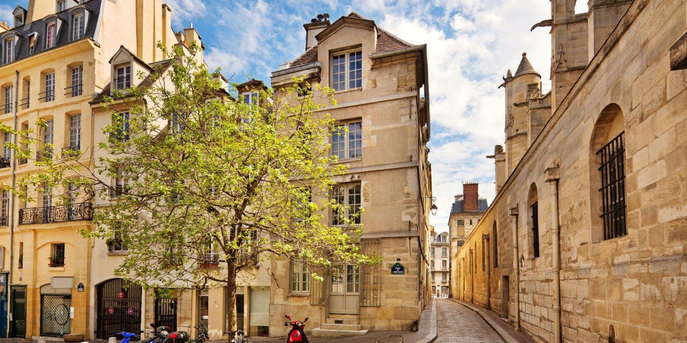 Street of 16th Arrondissement in Paris