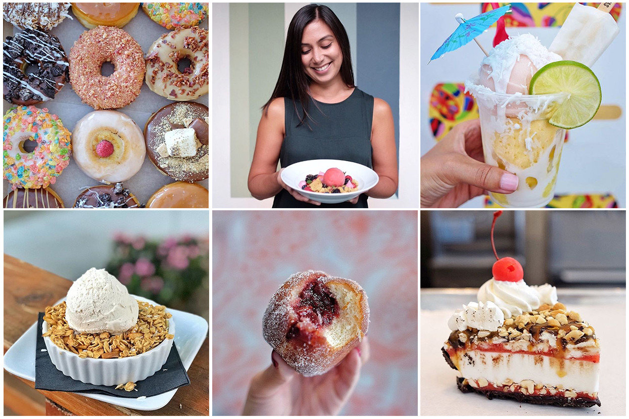 Food + Drink Influencers + Tastemakers different food dessert baking torte buttercream sweetness brunch frozen dessert icing flavor cream recipe dairy product baked goods finger food whipped cream snack fruit toppings various colorful same colored several breakfast