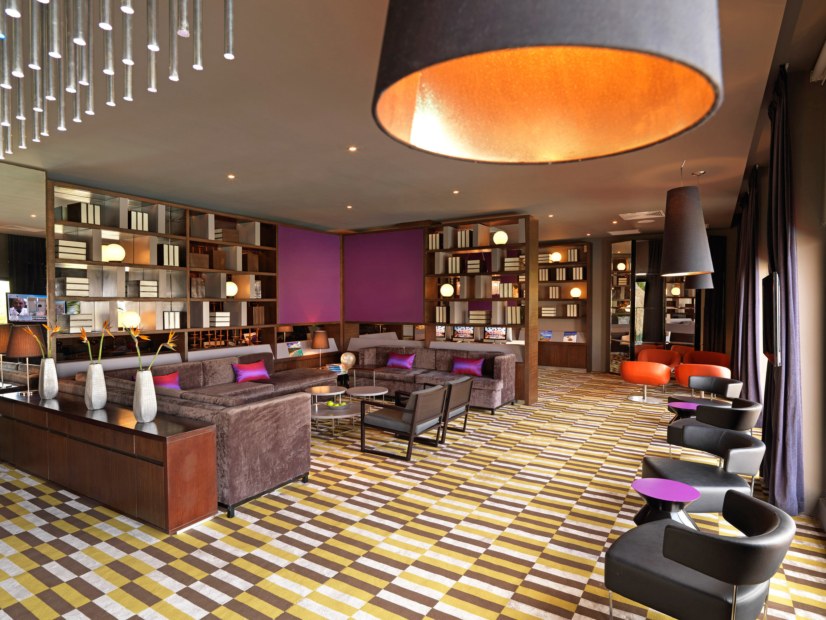 All-inclusive Family Hotels Lounge Luxury Resort Romantic indoor floor ceiling Lobby room interior design restaurant function hall Bar café recreation room furniture Design conference hall convention center area dining room